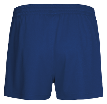 CORE WOMENS SHORTS, TRUE BLUE/SPORTS YELLOW, packshot