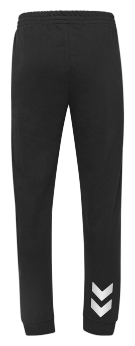 HUMMEL GO KIDS COTTON PANT, BLACK, packshot