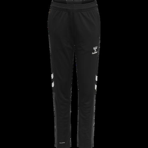 hmlLEAD FOOTBALL PANTS KIDS, BLACK, packshot