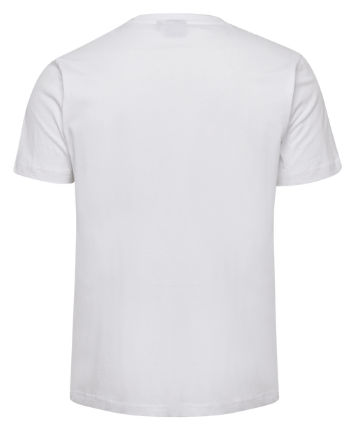 hmlSPLASH T-SHIRT S/S, WHITE, packshot