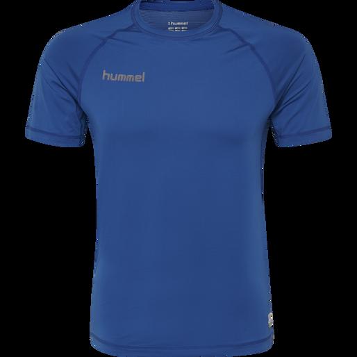 HUMMEL FIRST PERFORMANCE JERSEY S/S, TRUE BLUE, packshot