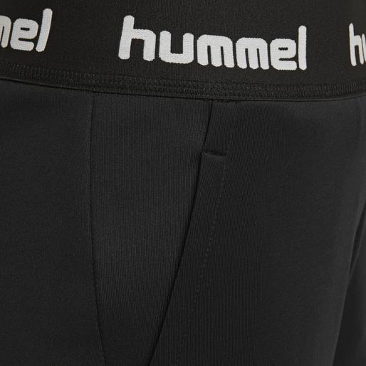 hmlHEINE PANTS, BLACK, packshot