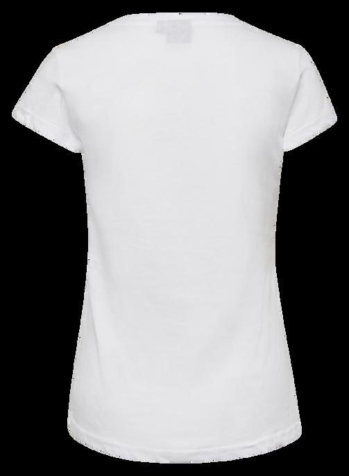 hmlCEDAR T-SHIRT S/S, WHITE, packshot
