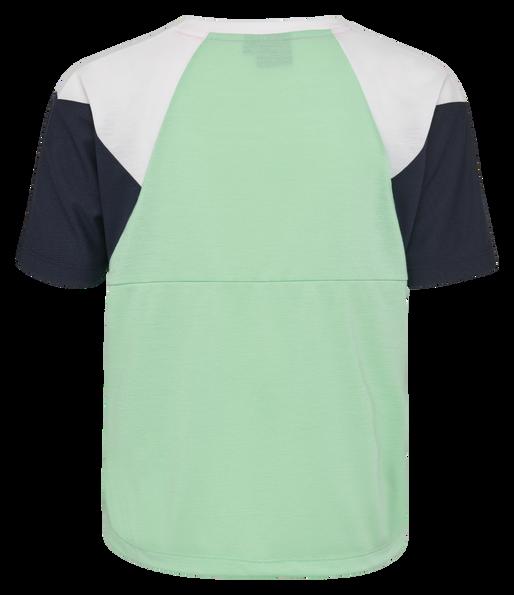 hmlROBIN T-SHIRT S/S, ICE GREEN, packshot