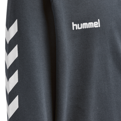 HUMMEL GO KIDS COTTON HOODIE, INDIA INK, packshot
