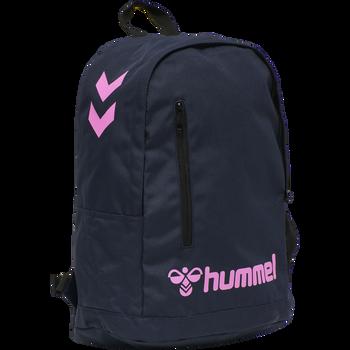hmlACTION BACK PACK, BLACK IRIS/SUGAR PLUM, packshot