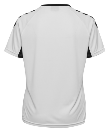 CORE TEAM JERSEY WOMAN S/S, WHITE, packshot