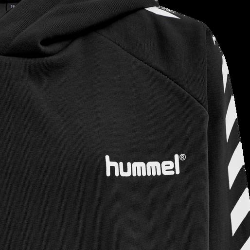 hmlSOLO HOODIE, BLACK, packshot