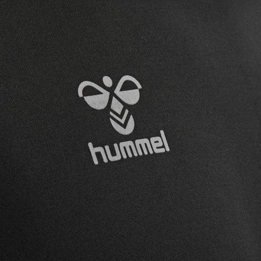 hmlCIMA KIDS HOODIE, BLACK, packshot