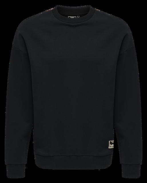 hmlURBAN SWEATSHIRT, BLACK, packshot