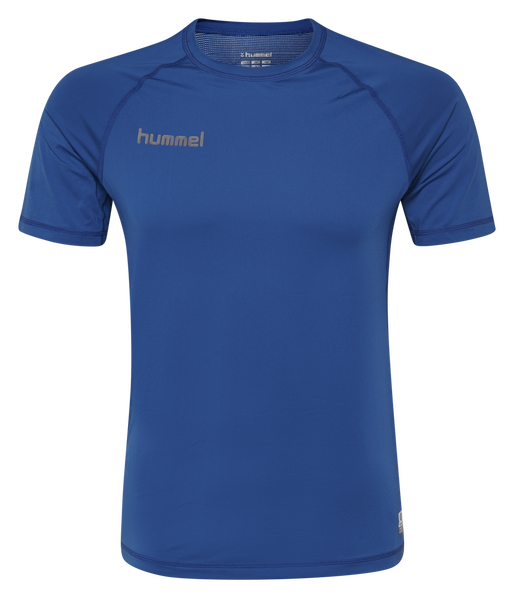 HUMMEL FIRST PERFORMANCE JERSEY S/S, TRUE BLUE, packshot