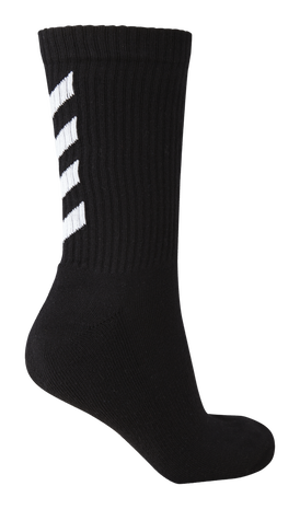 FUNDAMENTAL 3-PACK SOCK, BLACK, packshot