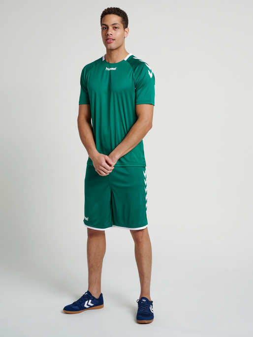 CORE TEAM JERSEY S/S, EVERGREEN, model