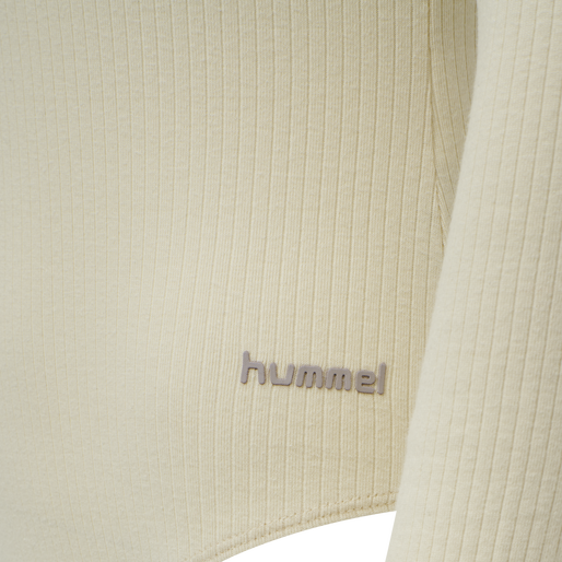 hmlBELL BODY L/S, WHITE ASPARGUS, packshot