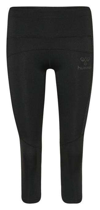 hmlLEXINE 3/4 TIGHTS, BLACK, packshot
