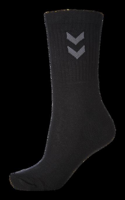 3-Pack Basic Socken, BLACK, packshot