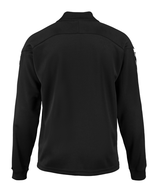 AUTH. CHARGE POLY ZIP JACKET, BLACK, packshot