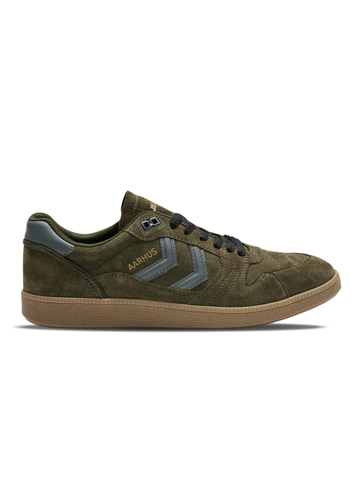 HB TEAM SUEDE, DARK GREEN, packshot