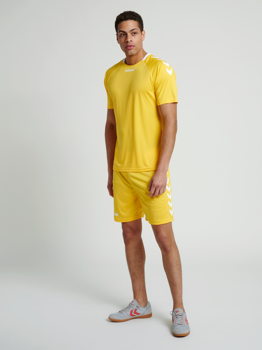 CORE TEAM JERSEY S/S, SPORTS YELLOW, model