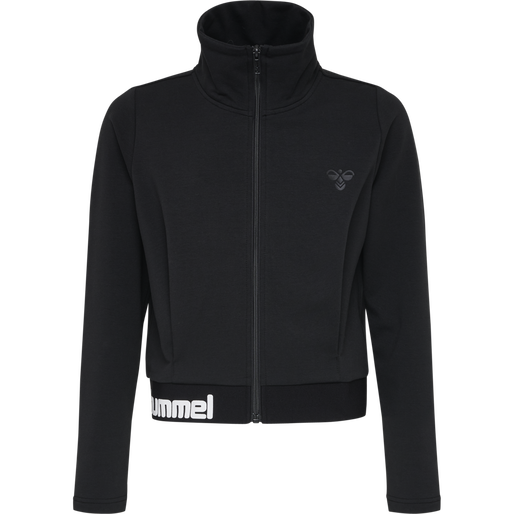 hmlMYNTE ZIP JACKET, BLACK, packshot