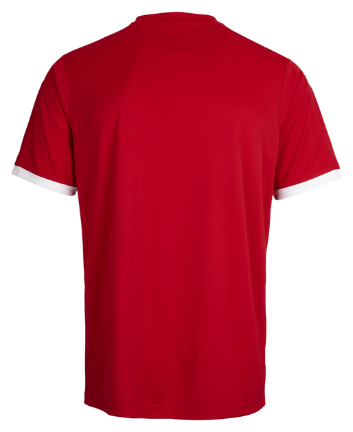 CORE SS POLY JERSEY, TRUE RED PRO, packshot