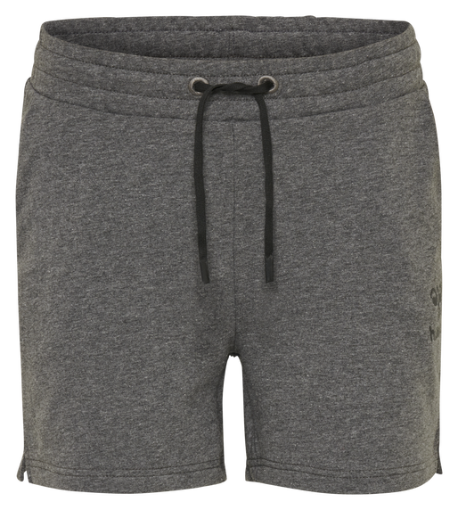 hmlNICA SHORTS, DARK GREY MELANGE, packshot