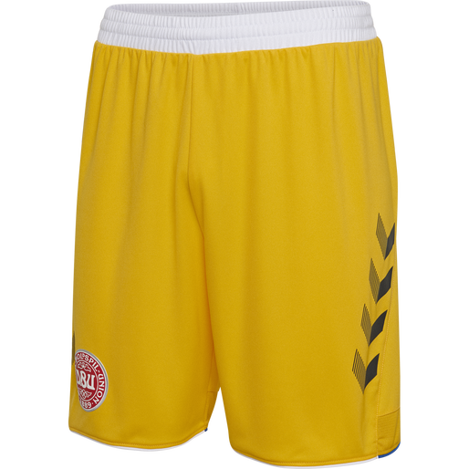 DBU GK SHORTS 18/19, SPORTS YELLOW, packshot