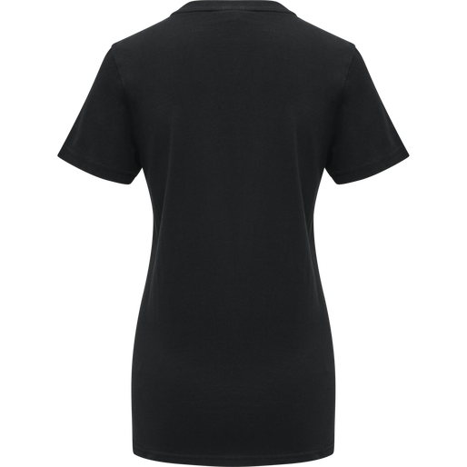 hmlMOVE T-SHIRT WOMAN, BLACK, packshot