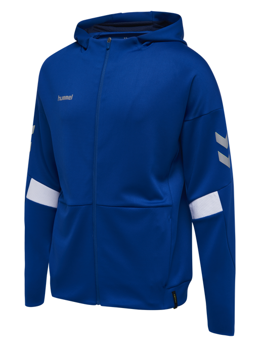 TECH MOVE ZIP HOOD, TRUE BLUE, packshot