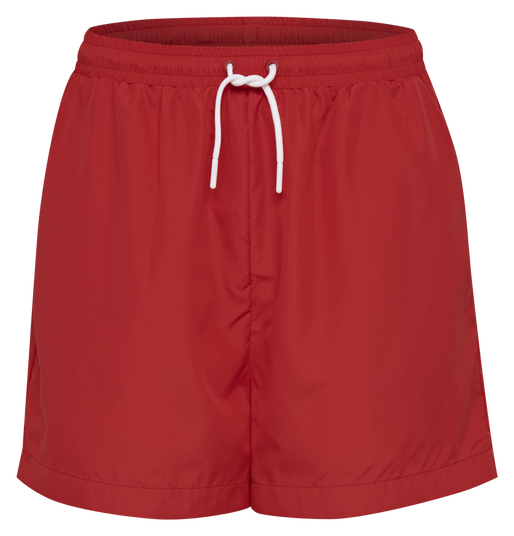hmlFYR OVERSIZED SHORTS, TRUE RED, packshot