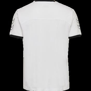 hmlCIMA T-SHIRT, WHITE, packshot