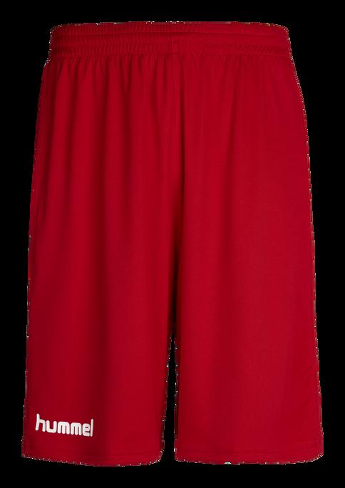 CORE BASKET SHORTS, TRUE RED, packshot