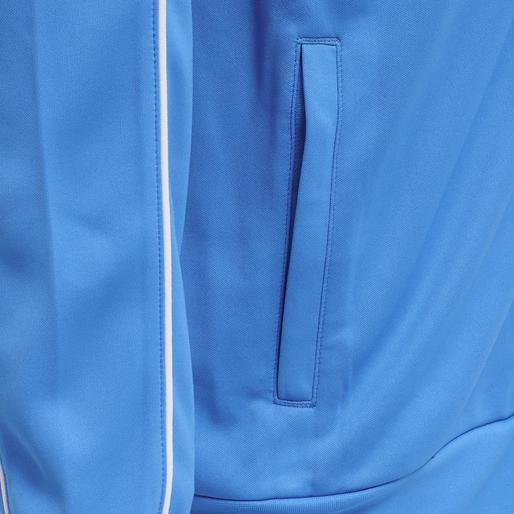 hmlARNE ZIP JACKET, BLUE ASTER, packshot
