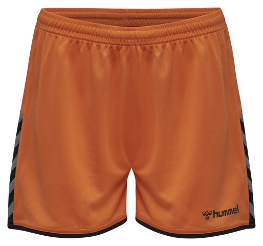 hmlAUTHENTIC POLY SHORTS WOMAN, TANGERINE, packshot