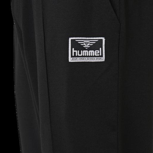 hmlMIDDLES CROPPED PANTS, BLACK, packshot
