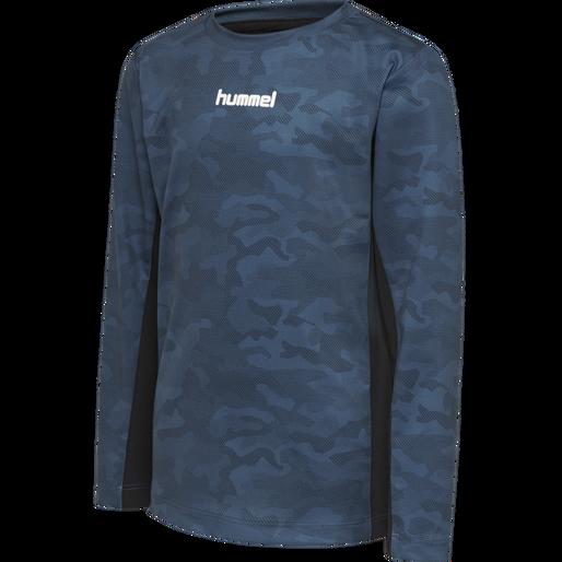 hmlRUSSEL T-SHIRT L/S, STELLAR, packshot