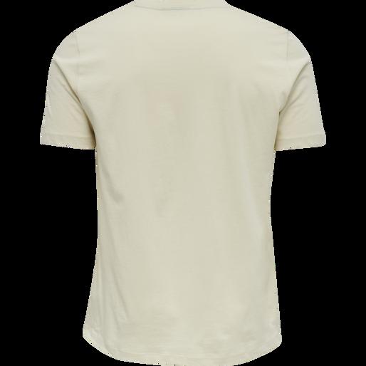 hmlISAM T-SHIRT, BONE WHITE, packshot