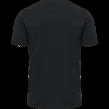hmlLGC GRAHAM T-SHIRT, BLACK, packshot