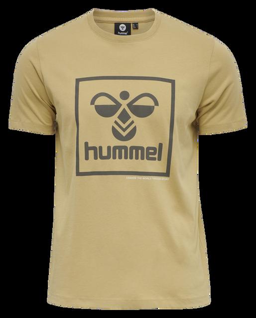 hmlISAM T-SHIRT, LARK, packshot