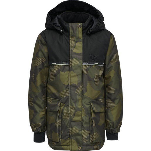 hmlWEST JACKET, OLIVE NIGHT/ ECRU OLIVE, packshot