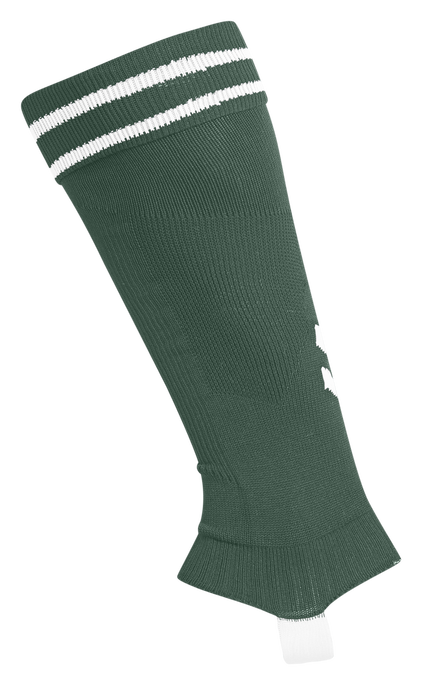 ELEMENT FOOTBALL SOCK FOOTLESS, EVERGREEN/WHITE, packshot
