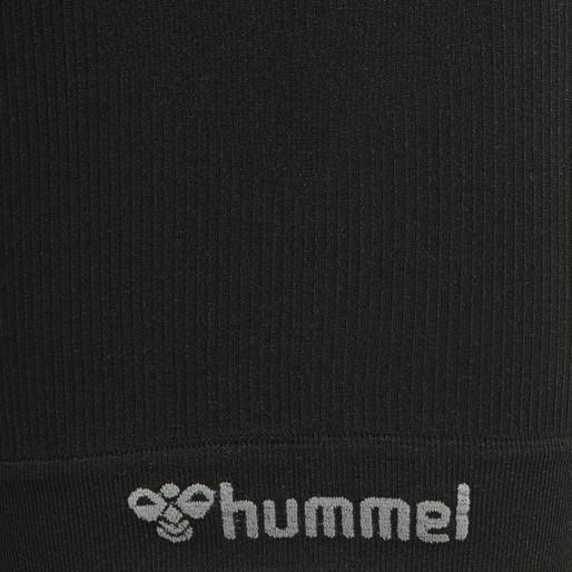 hmlMARTIN SEAMLESS CYCLING SHORTS, BLACK, packshot