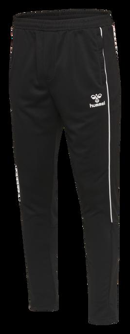hmlARNE TAPERED PANTS, BLACK, packshot
