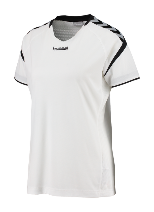 AUTHENTIC CHARGE SS POLY JERSEY WOMAN, WHITE, packshot