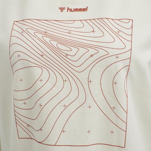 HMLJOVANKA T-SHIRT S/S TEE, OFF WHITE, packshot