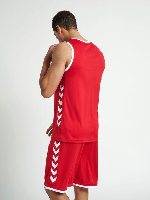 CORE BASKET JERSEY, TRUE RED, model