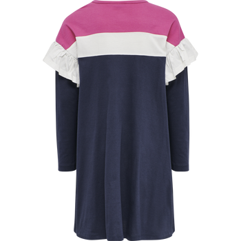 hmlANNA DRESS L/S, LILAC ROSE, packshot