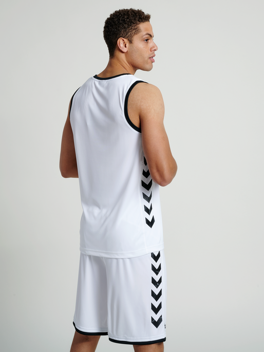 CORE BASKET JERSEY, WHITE, model