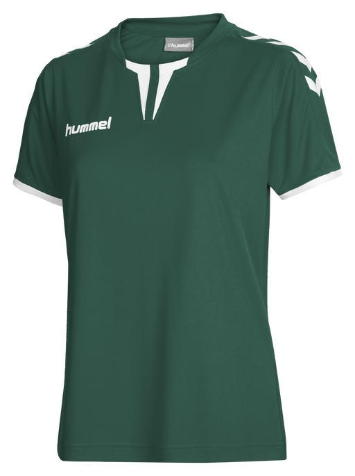 CORE WOMENS SS JERSEY, EVERGREEN PR, packshot