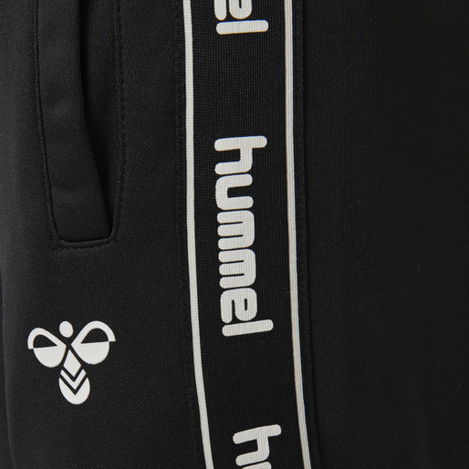 hmlASK PANTS, BLACK, packshot